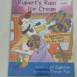 BLESS📬Rupert's Rainbow Ice-Cream (Values: Politeness) Story Book