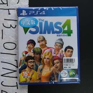 全新未拆 SONY PlayStation 4 PS4 EA The SIMS 4 模擬市民 4 中文版
