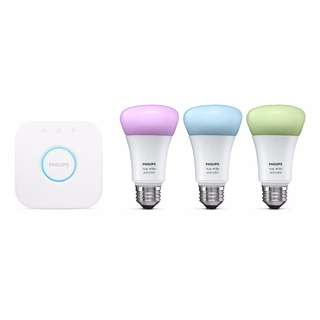 [IN-STOCK] Philips Hue LED Light Colour Ambiance Bulb Set 10W A60 E27