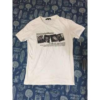 🚚 降價出清!Dolce&Gabbana D&G短袖T恤 修身款 短板短袖 高品質現貨