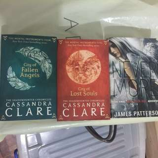 City of Lost Souls, City of Fallen Angels, Nevermore books