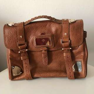 💯% Authentic Mulberry Leather Handbag