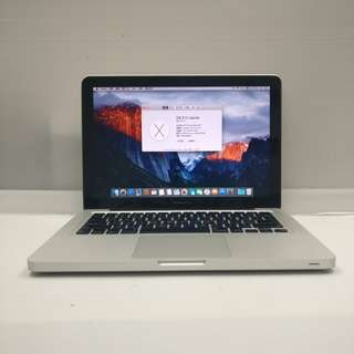 [NVIDIA Core2Duo] Apple MacBook 5,5 Pro 2009 Mid Core2Duo 4GB Ram 500GB HDD (With Charger/USB mouse/Case)