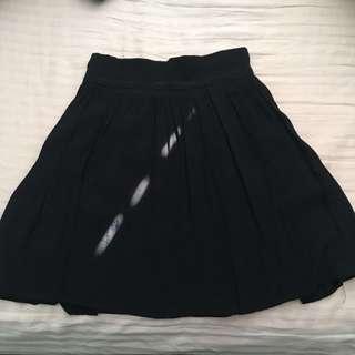Garage- Black Skirt