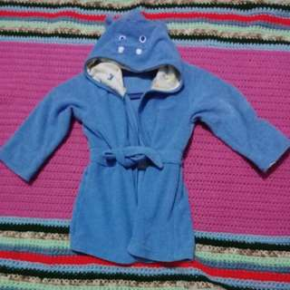 Summer sale!  Blue monster bath robe