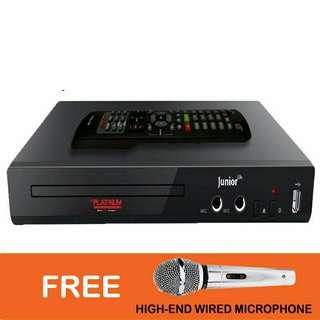 Platinum KS-5 DVD Karaoke Videoke Player