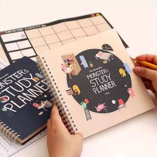 Study Planner/Diary/Journal