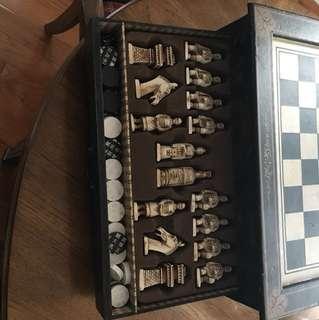 Chess/Checkers set