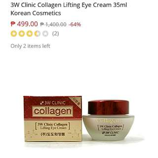 3W Clinic Lifting Collagen Eye Cream