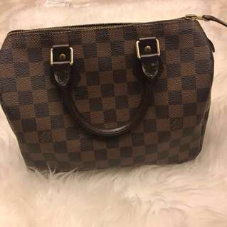 💟LV Damier speedy *100% authentic*