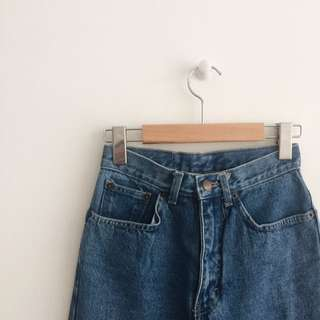 Vintage High Waisted Denim Jeans