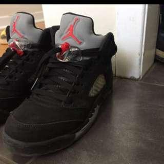 Jordan metallic 5s