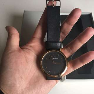 Horse watch - rose gold/black