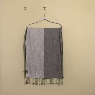 Mixed Grey Rectangle Scarf