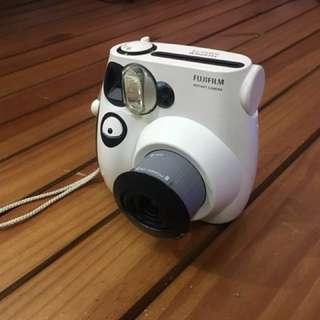 拍立得mini7S熊貓限定款 有盒子 購買證明 說明書
