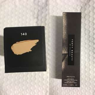 Fenty Beauty Foundation Shade 140