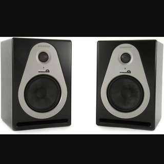 Samson A6 Active Studio Monitor  Speakers