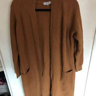 WOMAN OVERSIZED CARDIGAN WINTER KNIT