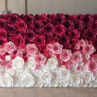 Paper flower works