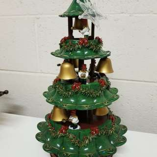 Christmas Bell Tower Tree