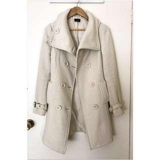 Bardot Beige Winter Long Jacket