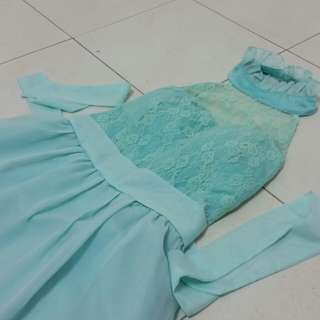 Mint Dress/ Bridesmaid Wear