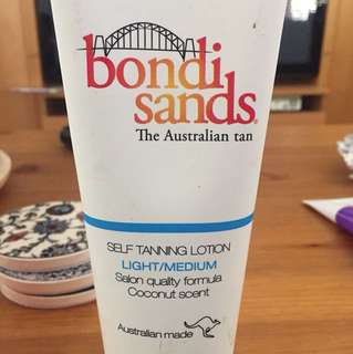 BONDI SANDS light/medium tanning lotion