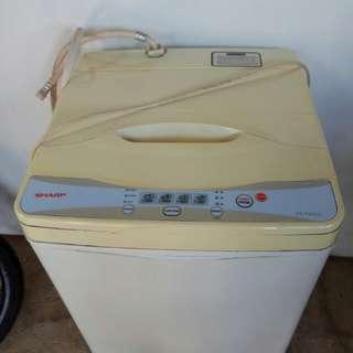 Mesin Cuci Satu Tabung Sharp kapasitas 7 KG