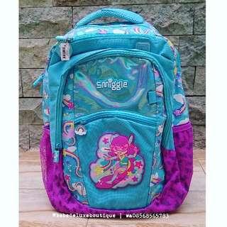 SMIGGLE Scented World Backpack Blue