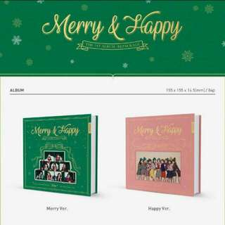 TWICE- MERRY AND HAPPY