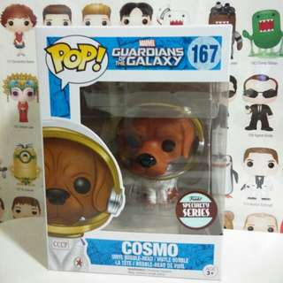 Funko Pop Cosmo Dog Exclusive Vinyl Figure Collectible Toy Gift Movie Guardians Of The Galaxy Marvel Comic