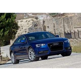 Audi A5 SportBack Facelift open for rent !!!