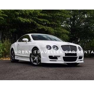 Bentley GTR CLA45 F30 Evoque etc. open for rent !!!