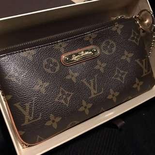 Authentic Louis Vuitton LV pouch handbag
