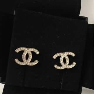 Authentic Chanel Earrings with receipt