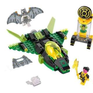 Lego Green Lantern vs Sinestro