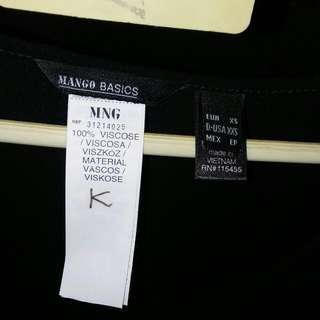 Repriced Mango blouse loose
