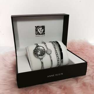 Anne Klein Watch Set