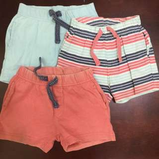 Mothercare Shorts 6-9 Months