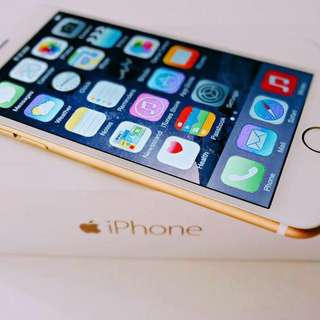 ⚠️128GB⚠️iPhone 6 gold *like a all new