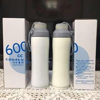 不銹鋼運動水瓶冷水專用(600cc)
