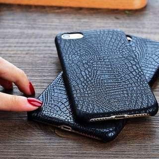 Crocodile skin textured Ultra Slim Case (Iphone 7)