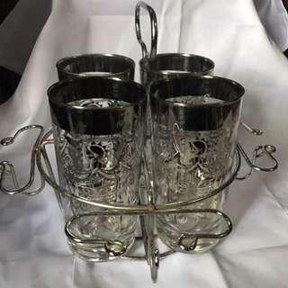 Vintage Kimiko glass