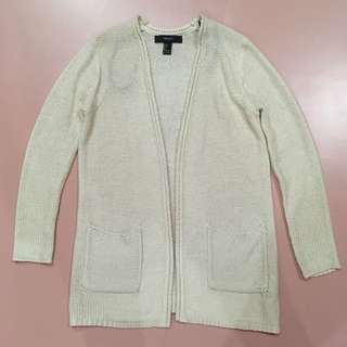 Forever21 nude cardigan