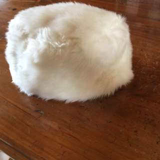 Winter fluff hat