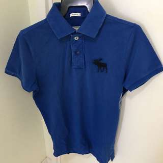 Brand New Abercrombie vintaged polo
