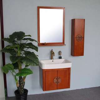 New basin with cabinet, mirror with cabinet, small cabinet to sell