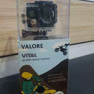 Valore 4K ultra HD action cam