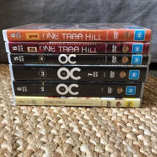 Tv series one tree hill, the oc, hart of Dixie