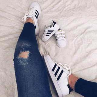 STAR002 Adidas KID Superstar White
